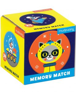 mini memory game outer space round mudpuppy