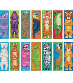 mix and match make a zoo puzzle