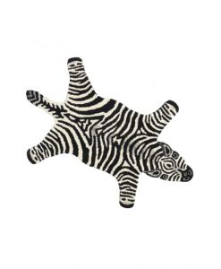 chubby zebra rug doing goods