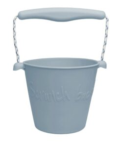 duck egg blue scrunch bucket